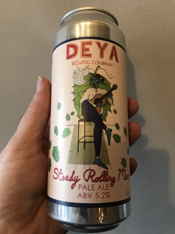 Steady Rolling Man New England Pale Ale by Deya Brewing Co.