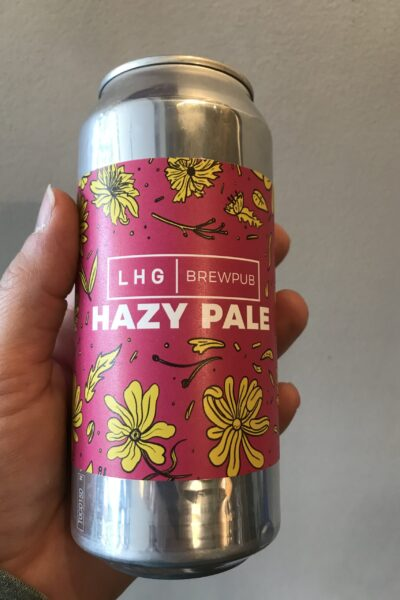 Hazy Pale by LHG Brewpub.