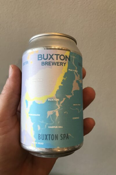 Spa American Pale Ale by Buxton Brewery.
