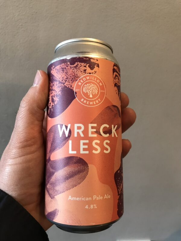 Wreckless American Pale Ale by RedWillow Brewery.