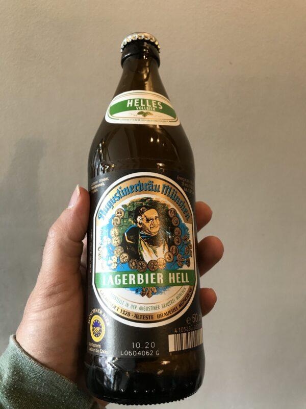 Lagerbier Helles by Augustiner Munchen.