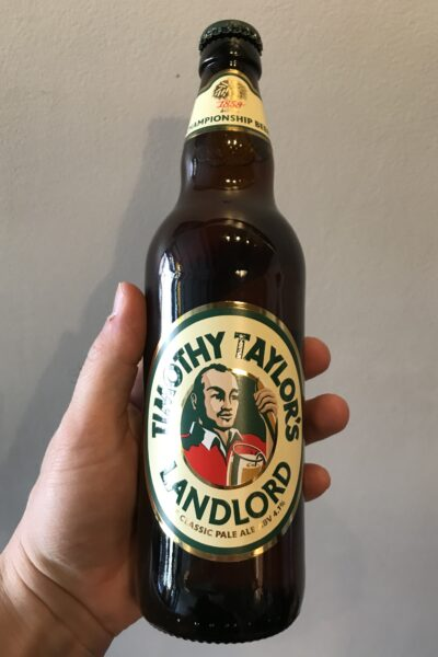 Landlord Pale Ale by Timothy Taylor's Brewery.