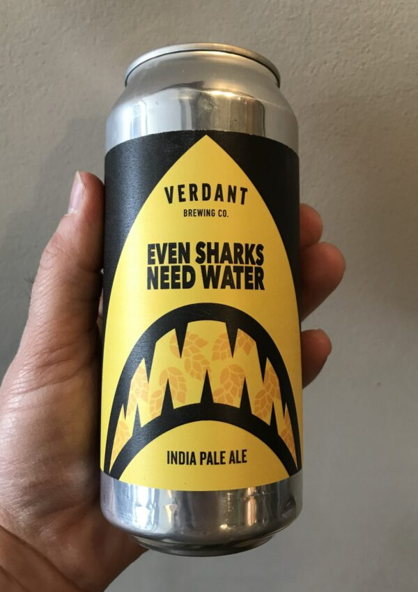 Even Sharks Need Water IPA by Verdant Brewing Co.