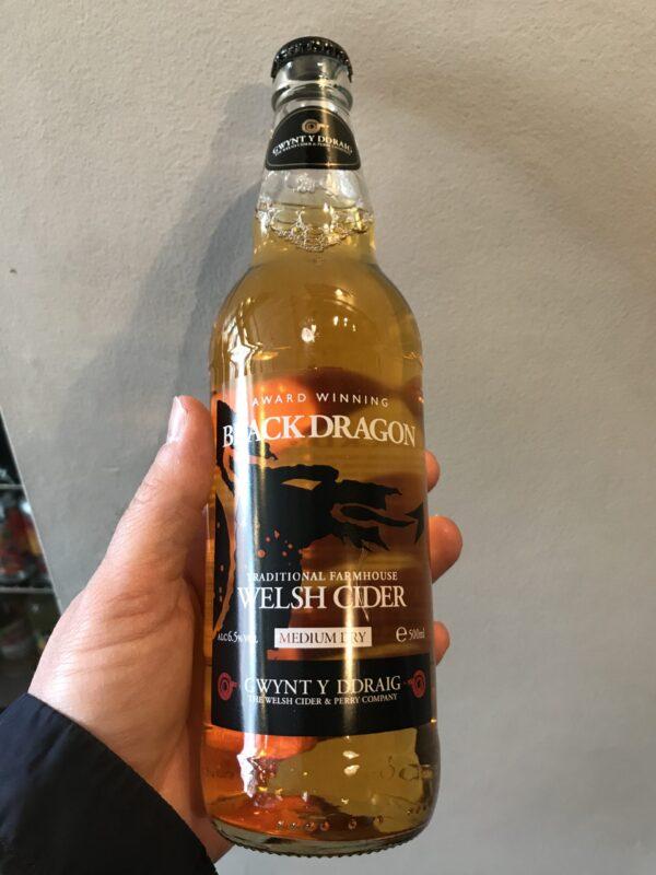 Black Dragon Cider by Gwynt y Draig.