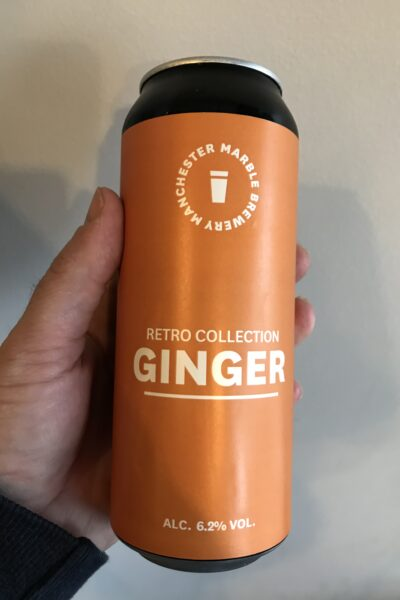 Ginger by Marble Beers.