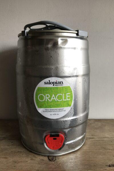 Oracle 5 Litre Mini-Keg by Salopian Brewery.