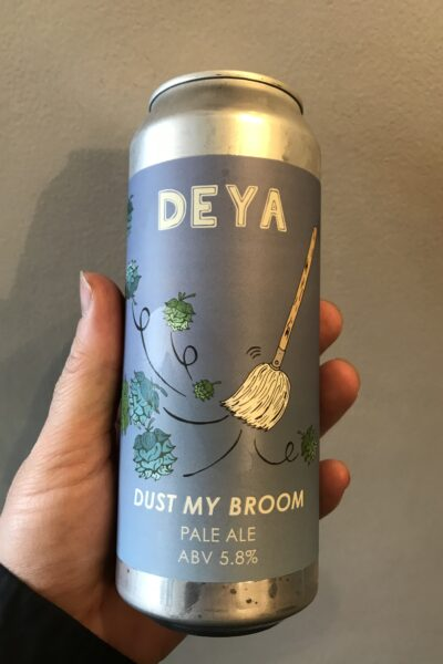 Dust My Broom Pale Ale by Deya Brewing Company.