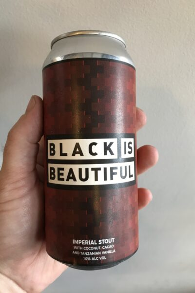 Black is Beautiful Imperial Stout by Left Handed Giant.