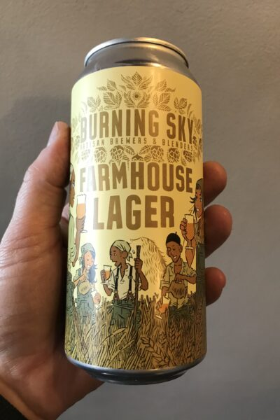 Farmhouse Lager by Burning Sky.