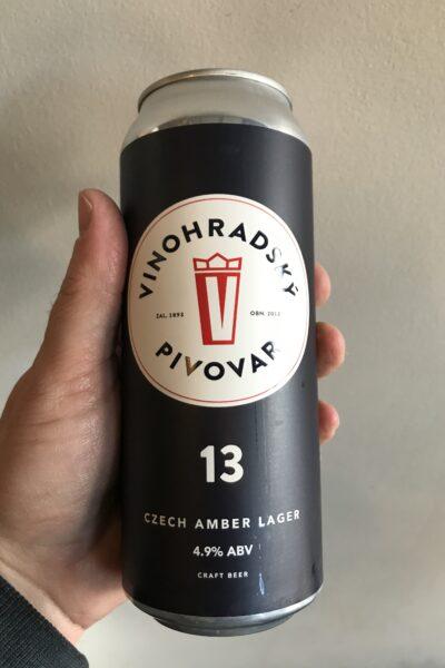 Vinohradsky Pivovar Amber Lager 13.
