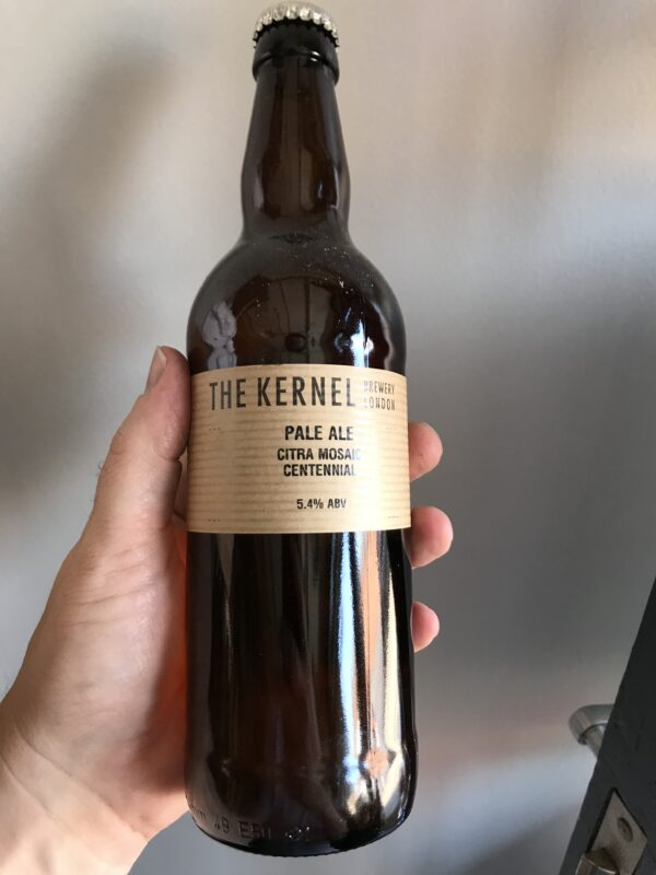 Pale Ale Citra Mosaic Centennial by The Kernel Brewery.