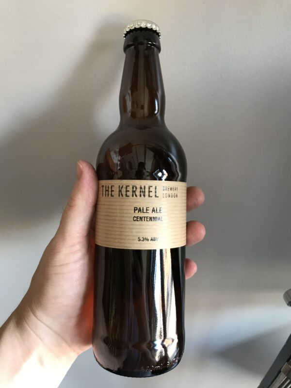 Pale Ale Centennial By The Kernel Brewery.