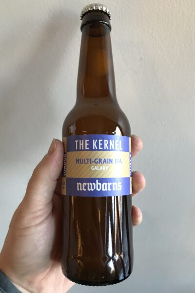 Multi Grain IPA with Galaxy by The Kernel and Newbarns Brewery.