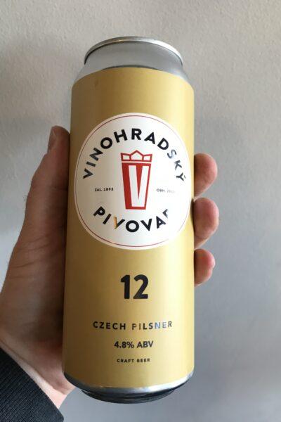 Vinohradsky Pivovar 12 Pilsner.