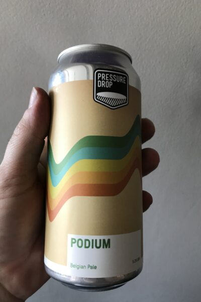 Podium Pale Ale by Pressure Drop.