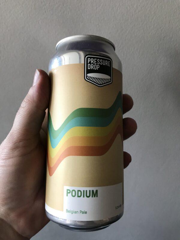 Podium Pale Ale by Pressure Drop.