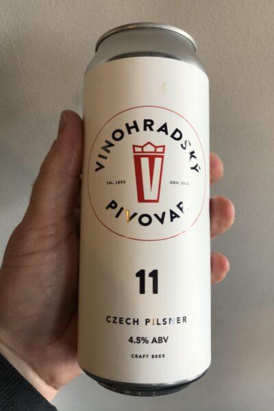 Vinohradsky 11 Pilsner.