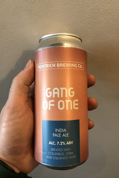 Gang of One IPA by Pentrich Brewing Co.