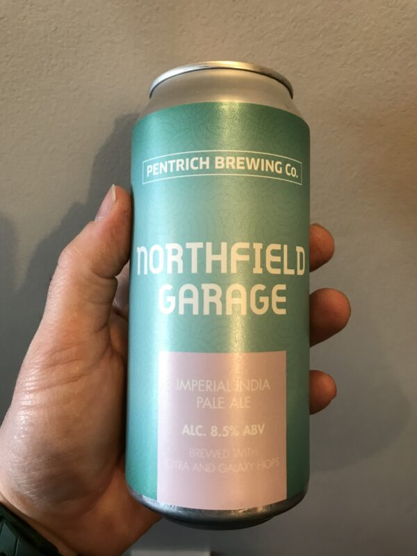 Northfield Garage Imperial IPA by Pentrich Brewing Co.