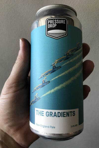 The Gradients New England Pale Ale by Pressure Drop.