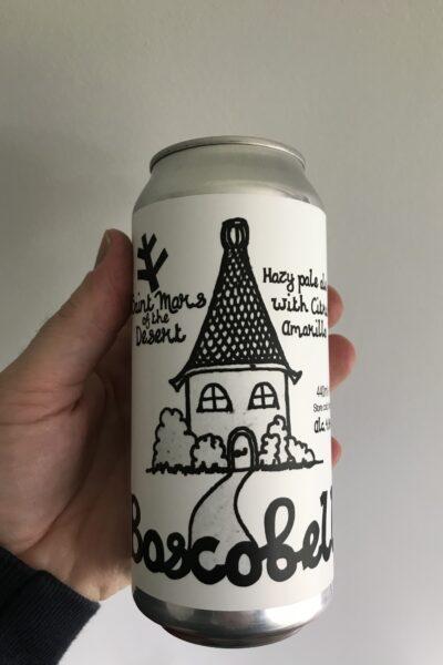 Buscobelle Hazy Pale Ale by Saint Mars of the Desert.