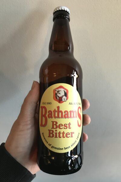 Best Bitter by Batham's Brewery.