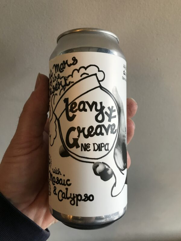 Leavy Greave Imperial IPA by Saint Mars of the Desert.