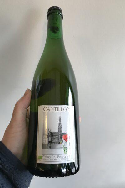Grand Cru Bruocsella lambic bio Saison by Brasserie Cantillon.
