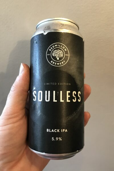 Soulless Black IPA by RedWillow Brewery.