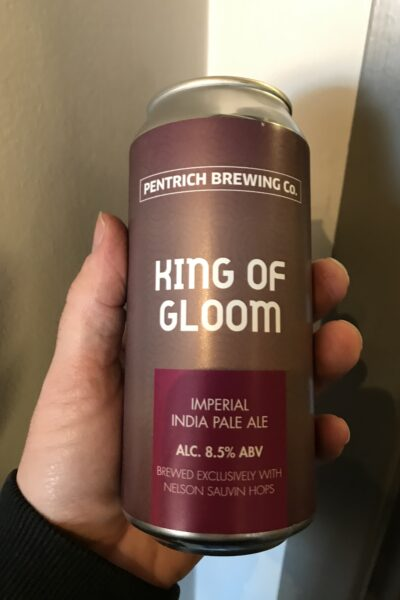 King of Gloom Imperial IPA by Pentrich Brewing Co.