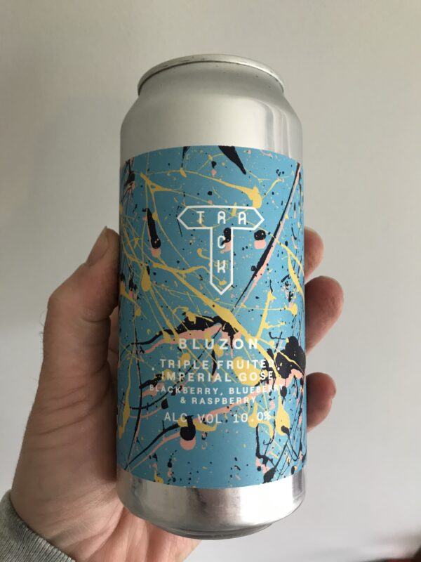 Bluzon Triple Fruited Gose by Track Brewing Co.