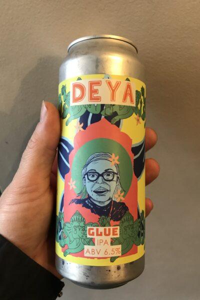 Glue IPA by Deya Brewing Company.