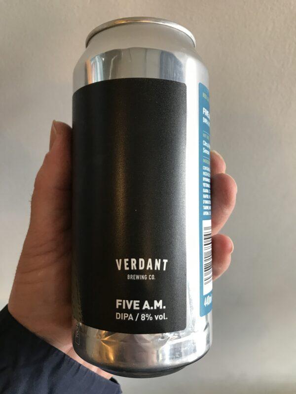 Five A.M. DIPA by Verdant Brewing Co.