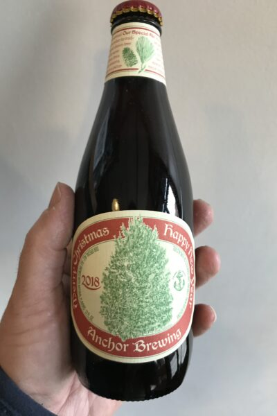 Anchor Christmas Ale 2018 by Anchor Brewing Company.