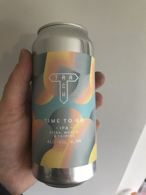 Time to Go New England IPA by Track Brewing Co.