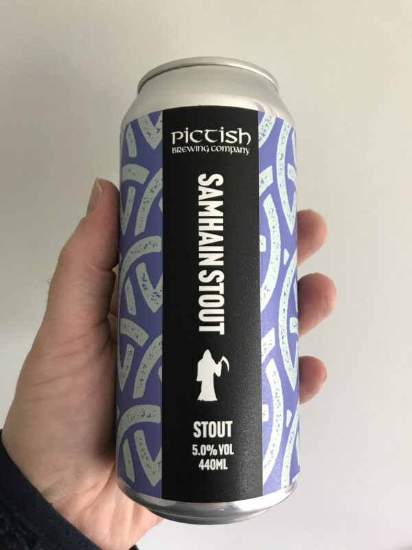 Samhain Stout by Pictish Brewing Company.