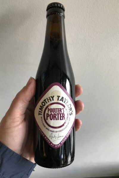 Poulter's Porter by Timothy Taylor's.