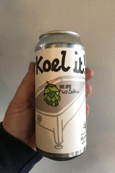 Koel It! (Sabro Edition) NE IPA by Saint Mars of the Desert.