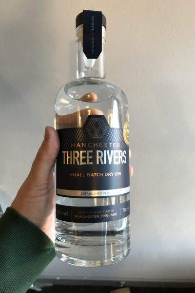 Manchester Three Rivers Gin.
