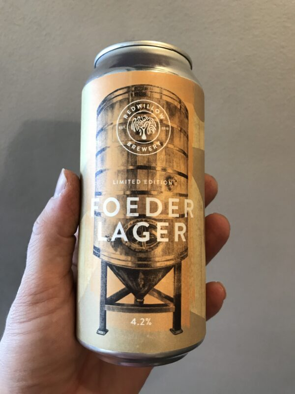 Foeder Lager by RedWillow Brewery.