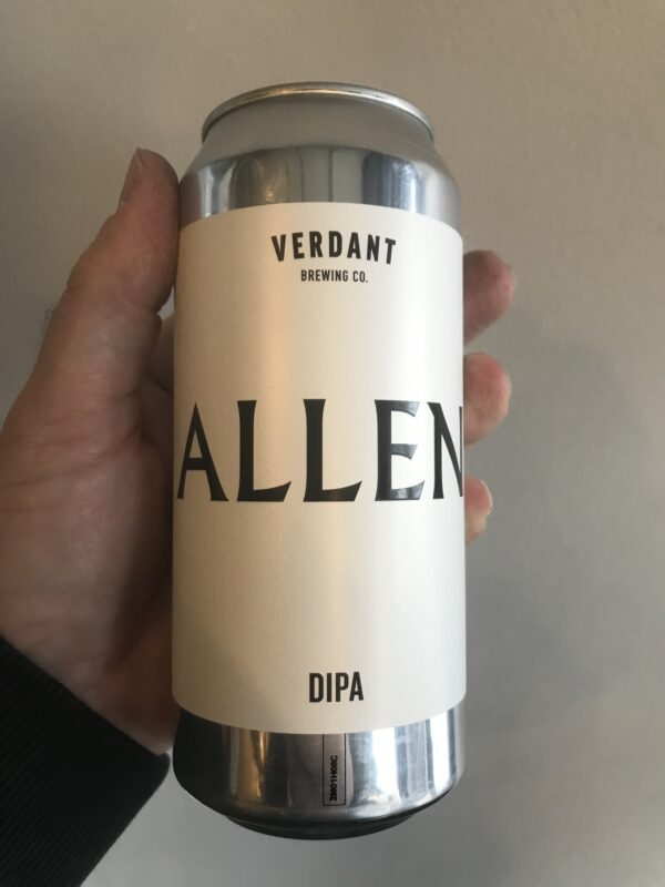 Allen DIPA by Verdant Brewing Co.