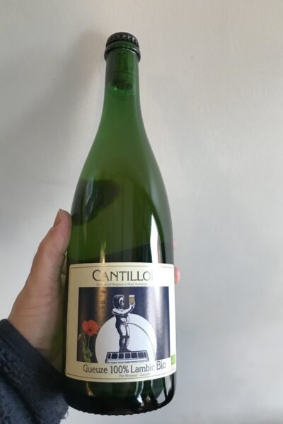 Gueuze 100% Lambic Bio by Brasserie Cantillon.