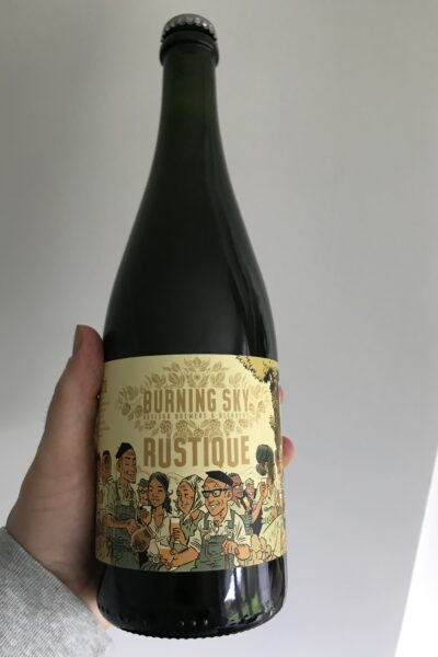 Rustique Belgian Pale by Burning Sky Brewery.