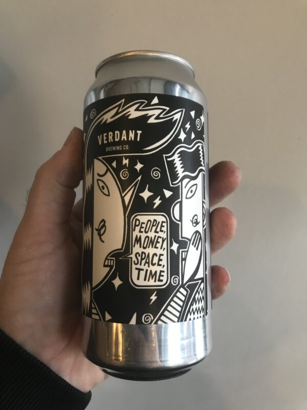 People, Money, Space, Time Pale Ale by Verdant Brewing Co.