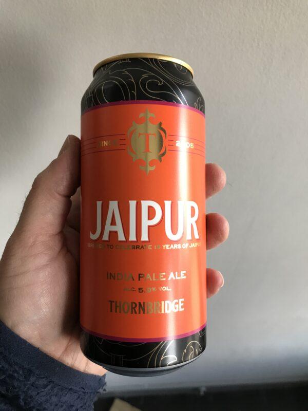 Jaipur IPA by Thornbridge Brewery.
