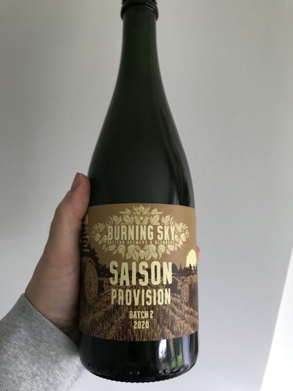 Saison 2020 Batch 2 by Burning Sky Brewery.