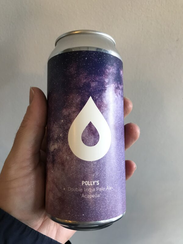 Acapella Double IPA by Polly's Brew Co.