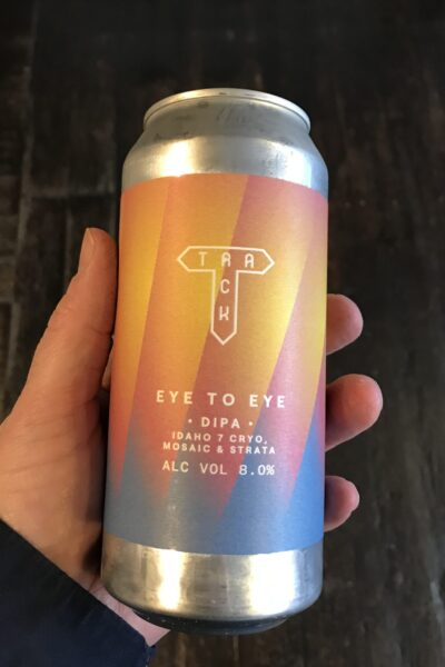 Eye to Eye DIPA by Track Brewing Company.