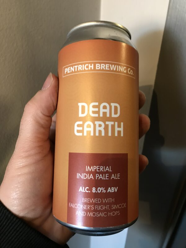 Dead Earth Imperial IPA by Pentrich Brewing Co.