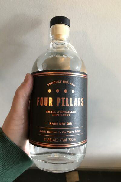 Four Pillars Rare Dry Gin.